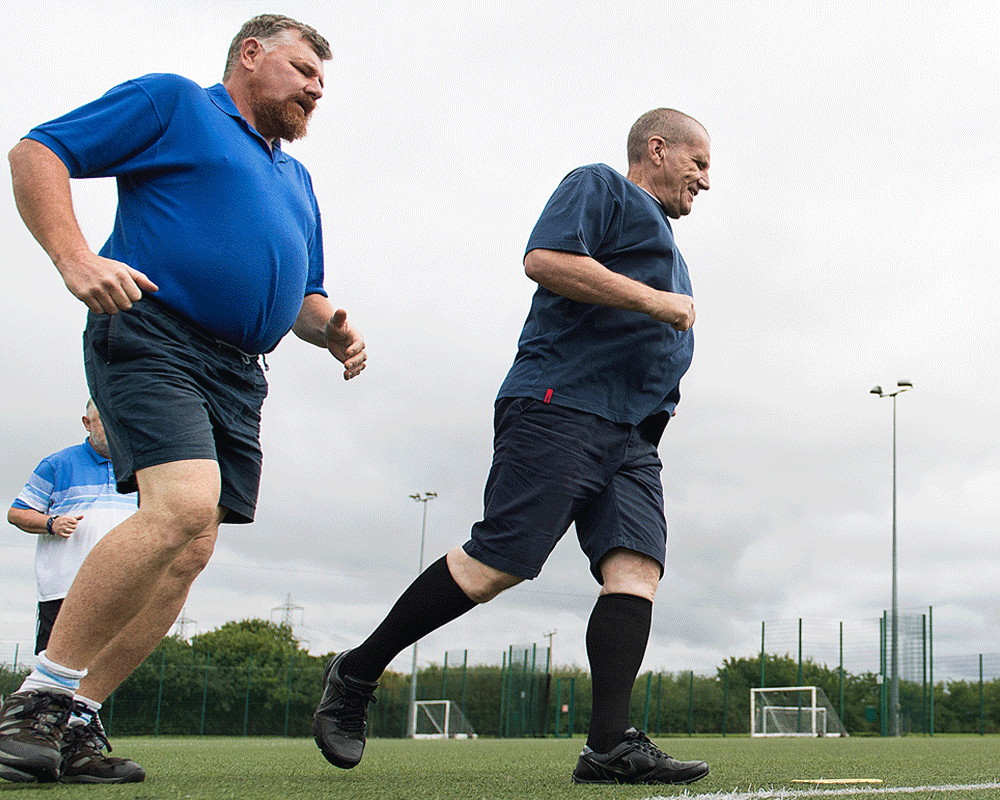 Healthy Hearts Walking Football Club